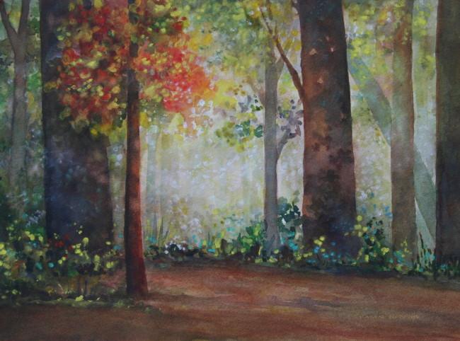 Watercolor by Karen Norman